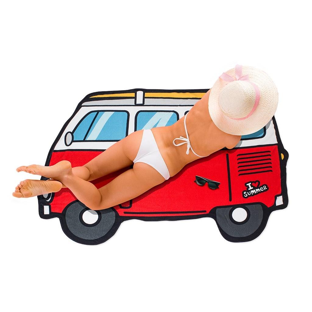 Beach towel Surf Van side polyester