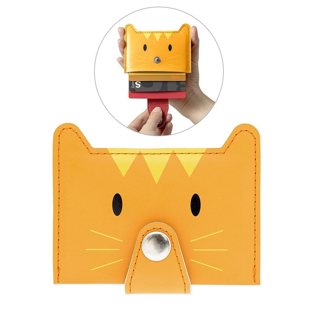 Credit card holder Zoo-wallet orange