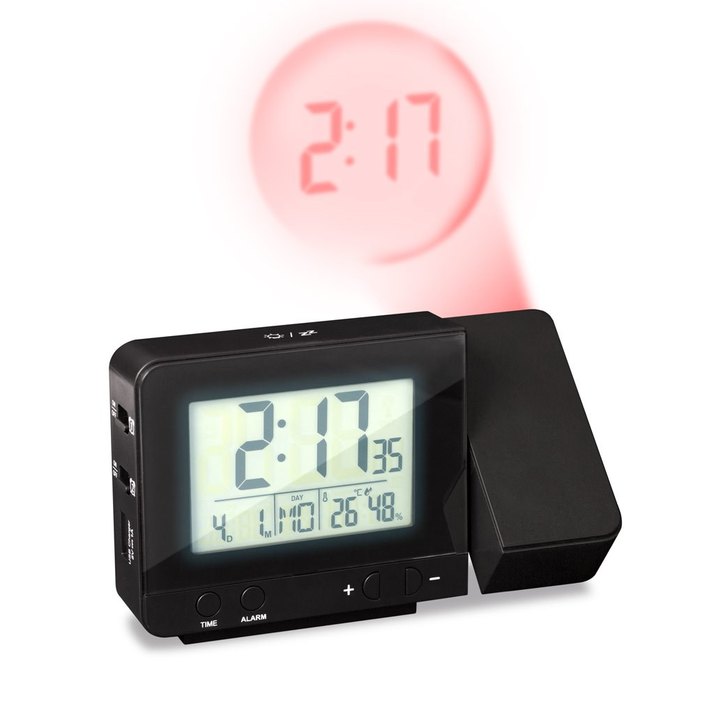 alarm clock with projection Shop with confidence at the oregon scientific store and save on your next oregon scientific home weather station, atomic projection clock, thermometer, weather instruments or bbq thermometer.