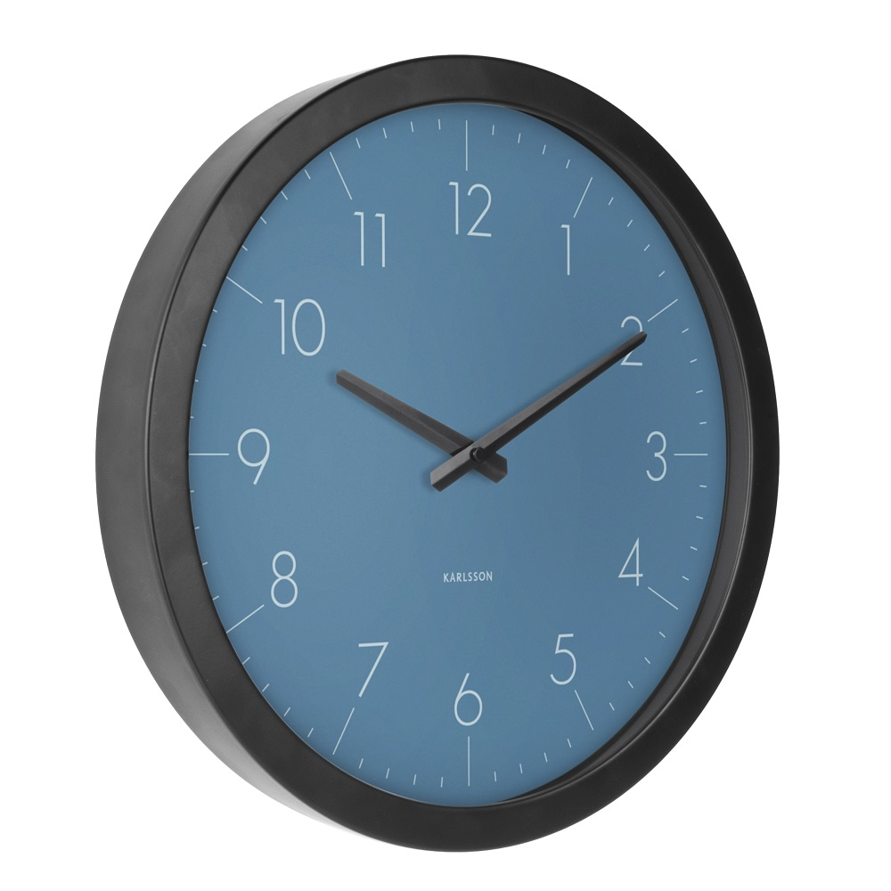 ΚΛΙΚ ΓΙΑ ΜΕΓΕΘΥΝΣΗ Ρολόι Τοίχου Karlsson Dainty Outside Blue d6503c307da