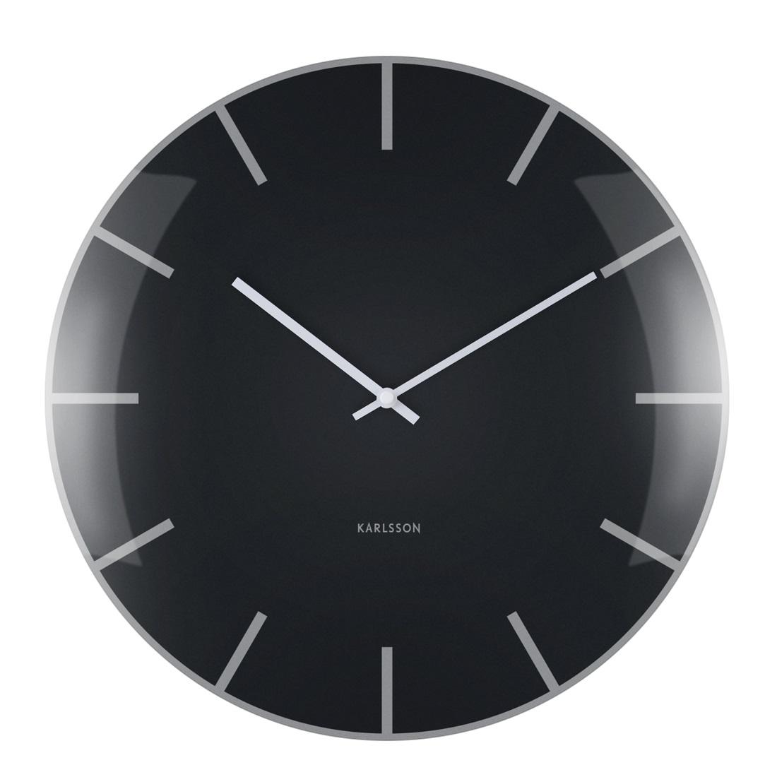 Ρολόι Τοίχου Karlsson Dome Black. ΚΛΙΚ ΓΙΑ ΜΕΓΕΘΥΝΣΗ 9e72ae77b6f