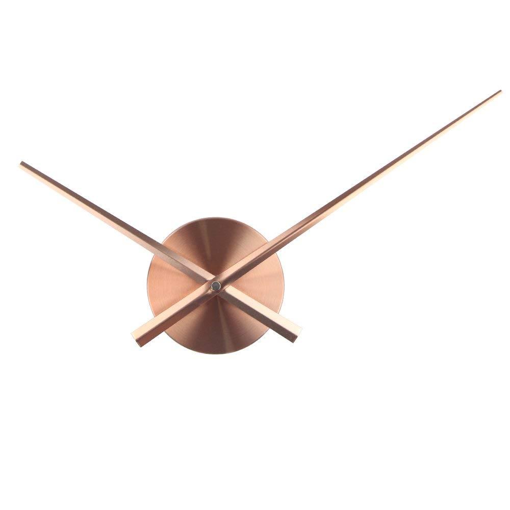 Ρολόι Τοίχου Αυτοκόλλητο DIY Aluminium Copper. ΚΛΙΚ ΓΙΑ ΜΕΓΕΘΥΝΣΗ 1904bbb7b22