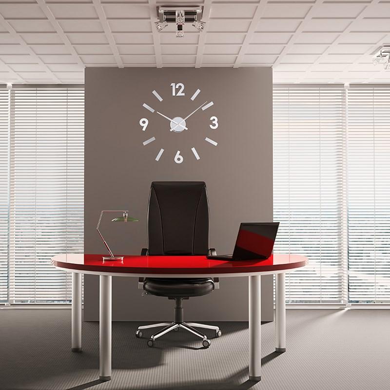 ΚΛΙΚ ΓΙΑ ΜΕΓΕΘΥΝΣΗ Ρολόι Τοίχου Αυτοκόλλητο DIY Aluminium. ΚΛΙΚ ΓΙΑ  ΜΕΓΕΘΥΝΣΗ 25ad2174bee