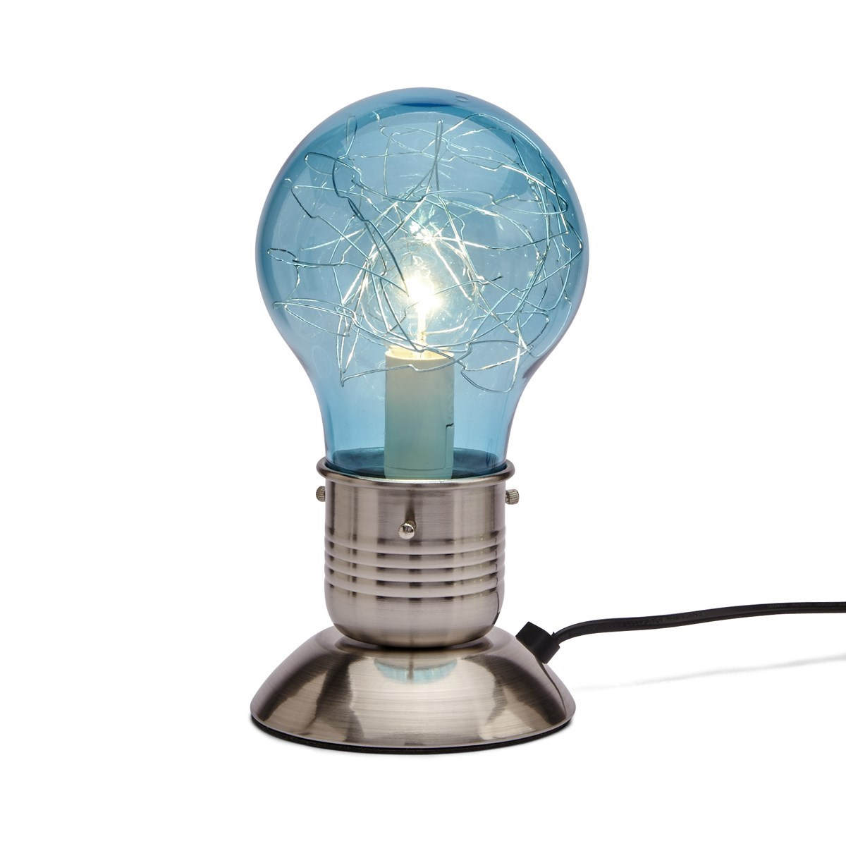 To Enlarge Touch Lamp Bulb Blue