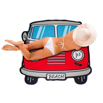 Beach towel Surf Van polyester