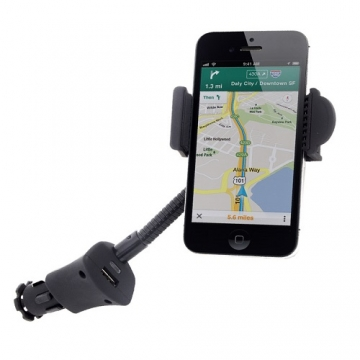Mobile phone holder with charger Octopus car - octopus.gr