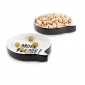 Snack set Talking Bubbles x2 ceramic